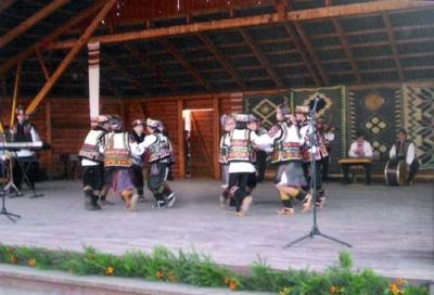 Traditional Hutsul Dancing